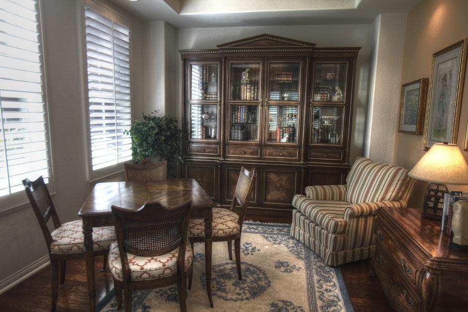 antique, apartment, cabinet
