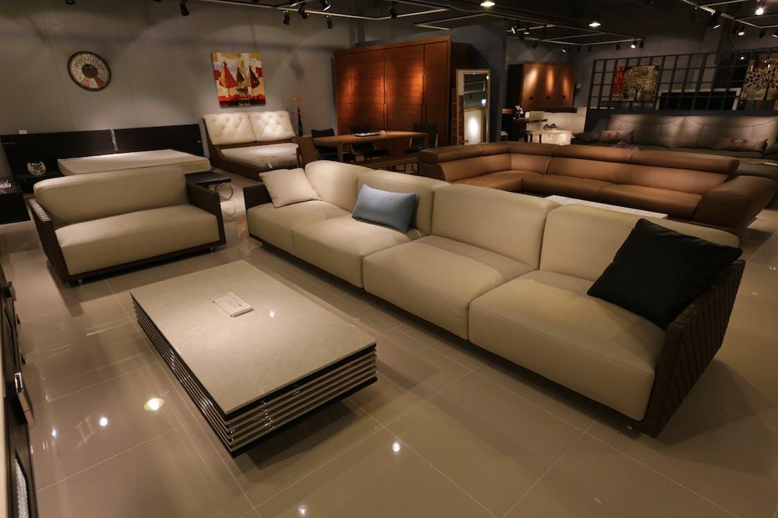 arredamento, camera, comfort