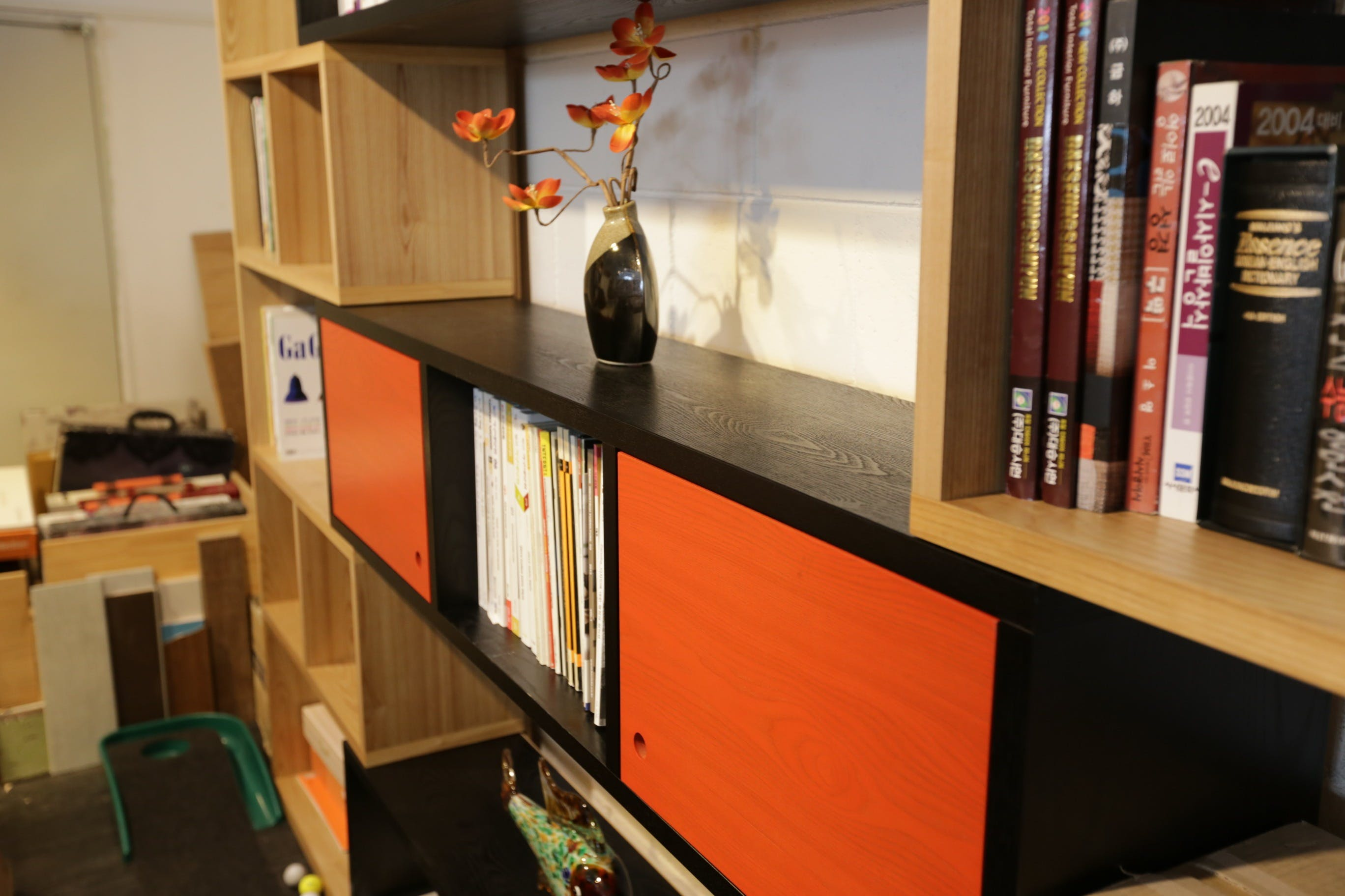 Books in Bookshelf
