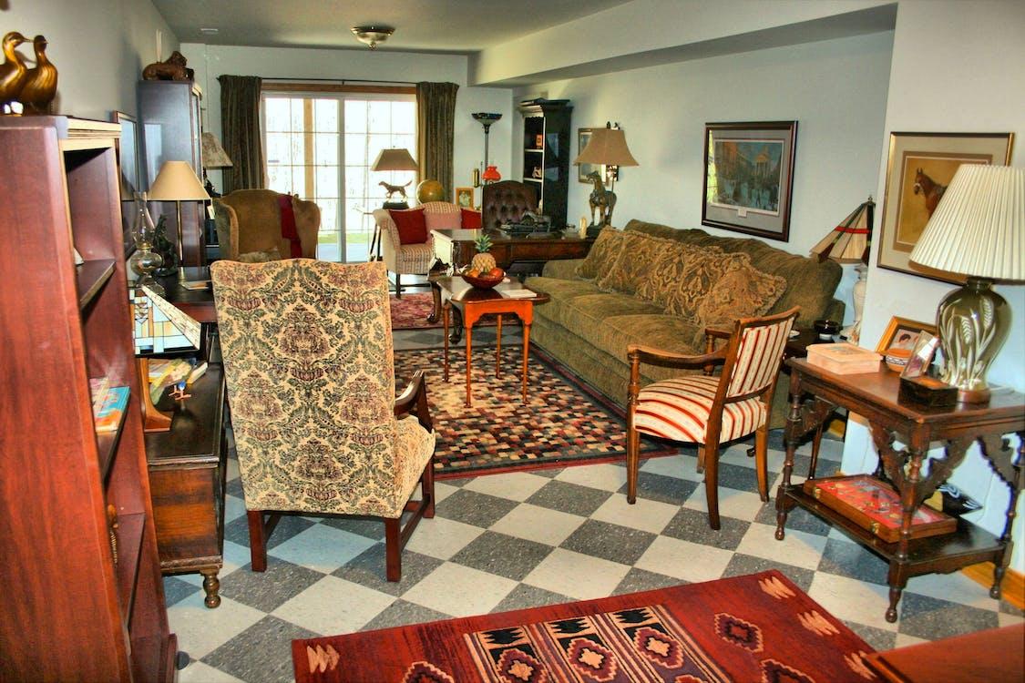 Free stock photo of accessories, apartment, carpet