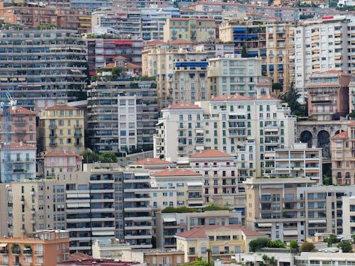 Ingyenes stockfotó építészet, épületek, lakóövezeti, város témában
