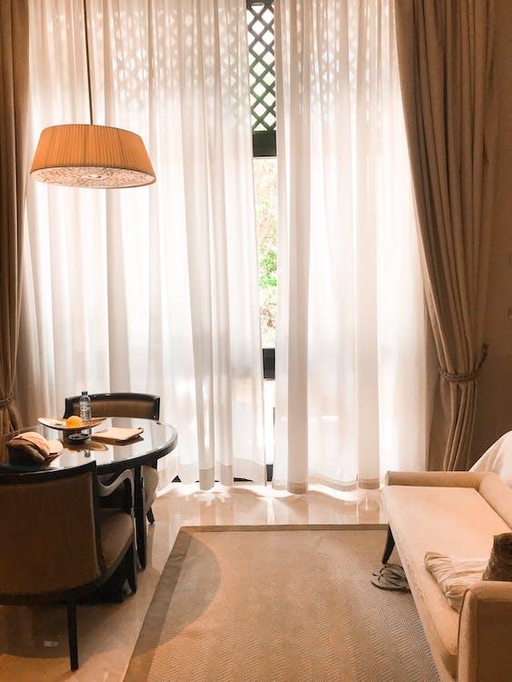 Photo Of Beige Themed Bedroom