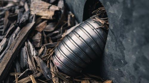 Darmowe zdjęcie z galerii z drewno, kora, makro, metal