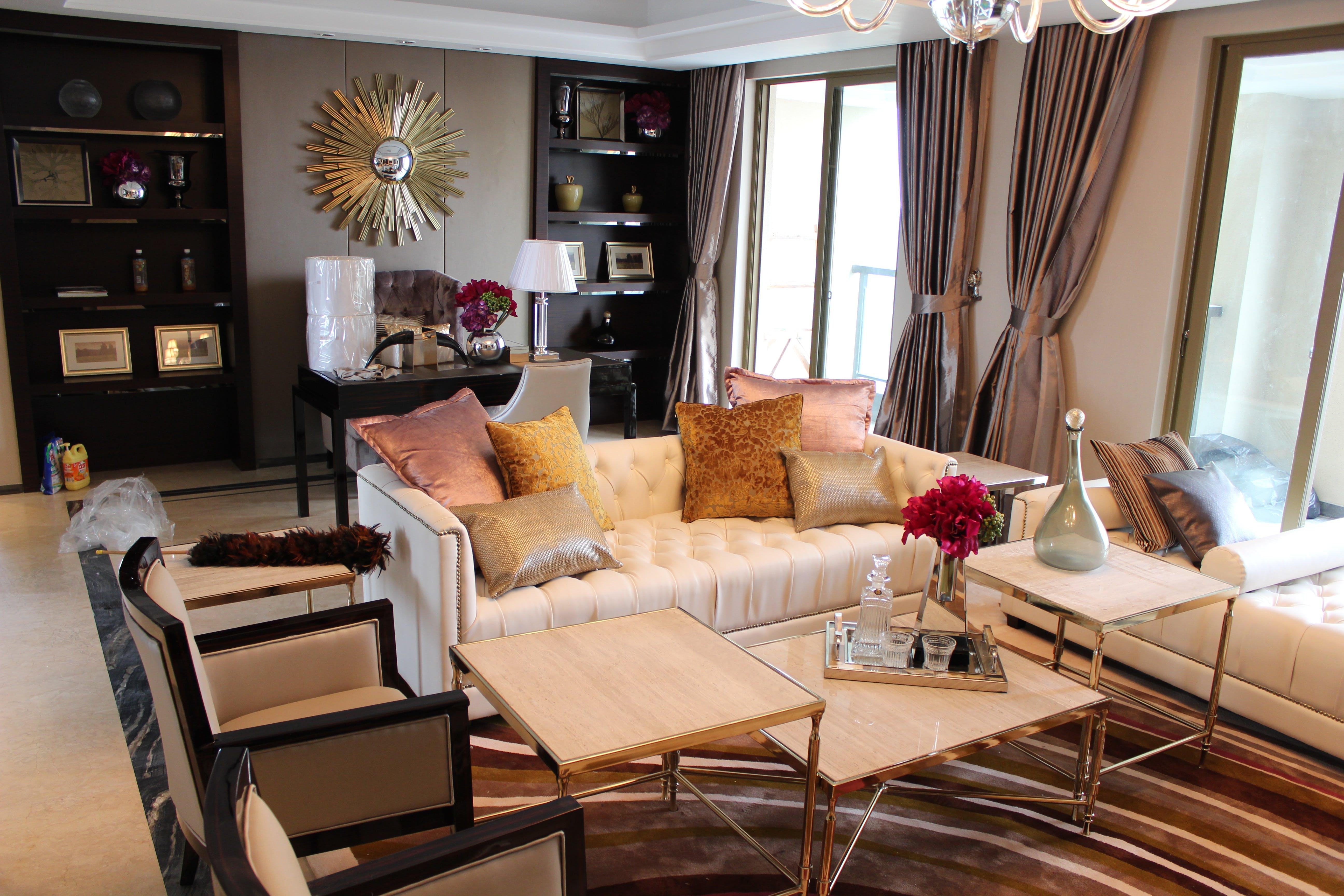 decoration, interior design, living room
