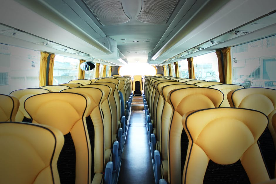 bus, business, chairs