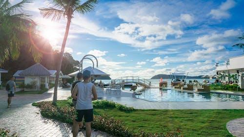 Безкоштовне стокове фото на тему «langkawi, вид на море, зйомка ширококутним об'єктивом, Кокосова Пальма»