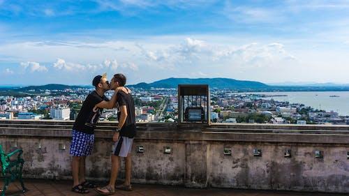 Free stock photo of gay, gay couple, gay love, kiss