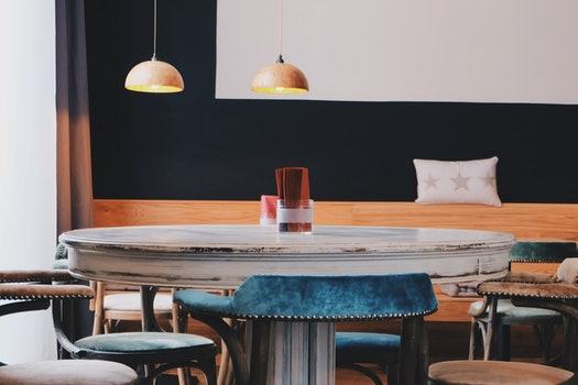 Free stock photo of wood, restaurant, desk, café