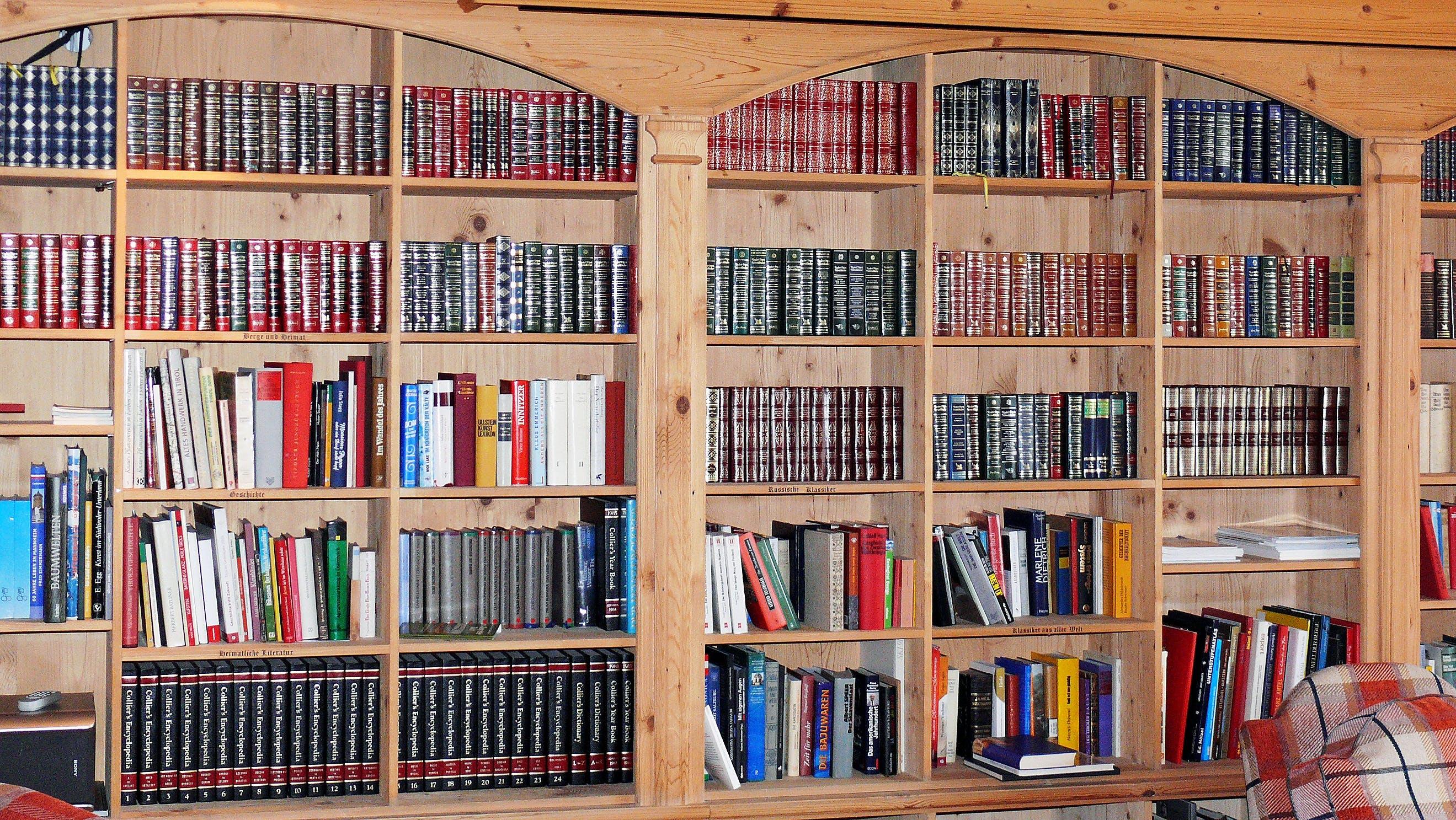 Encyclopedia File in Cabinet