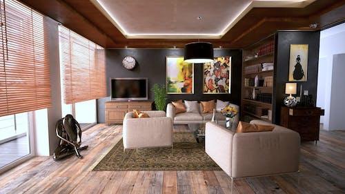 Gratis lagerfoto af arkitektur, boghylde, boligindretning, bygning