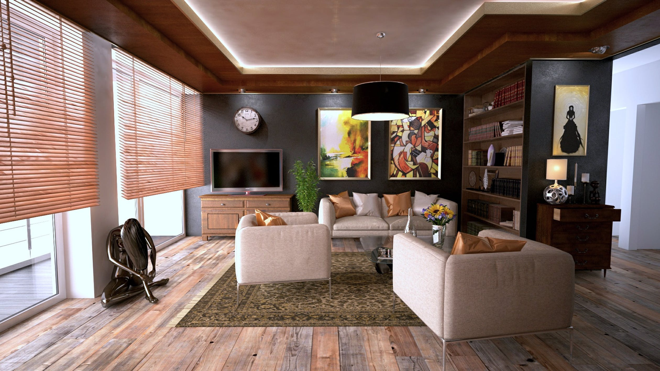 Use Physical Barriers to Protect Your Hardwood Flooring from the Sun