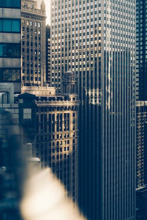 Бесплатное стоковое фото с архитектура, Архитектурное проектирование, бизнес, высотные здания
