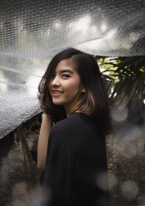 Kostnadsfri bild av asiatisk kvinna, asiatisk tjej, begrepp, bubbelplast