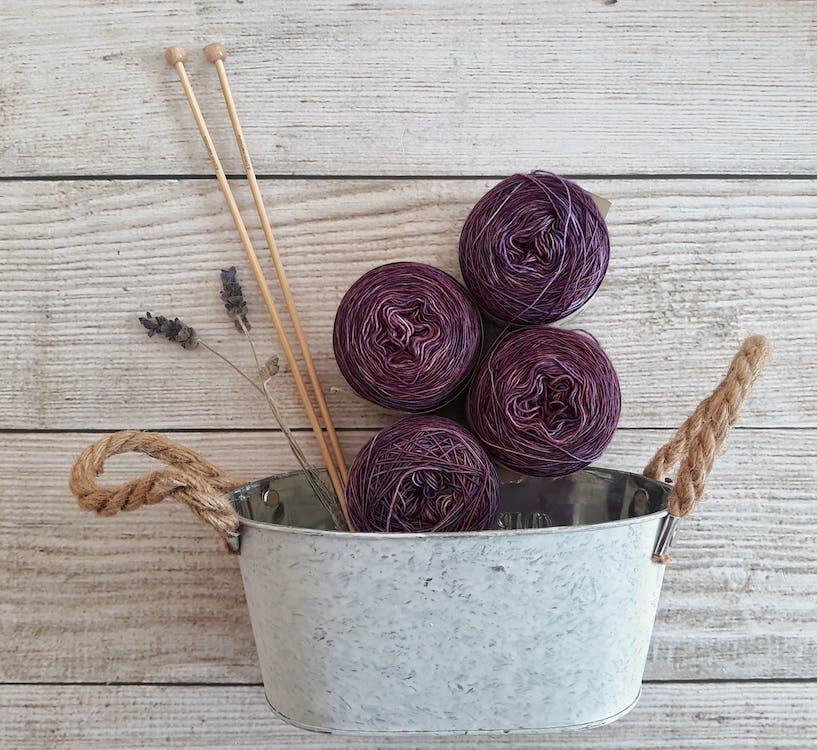 Purple Yarns