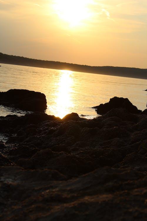 Free stock photo of sea, stones