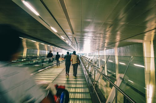 Free stock photo of airport, asian people, people walking
