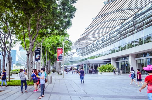 Free stock photo of asian people, Marina Bay Sands, outdoor photography