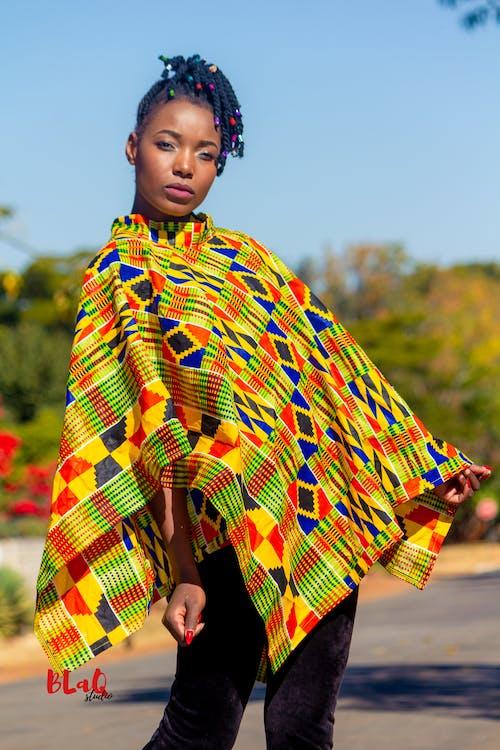 Základová fotografie zdarma na téma africký model, černý model, krásný černý model, krásný model