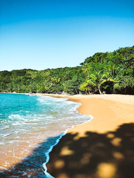 ακτή, άμμος, διακοπές