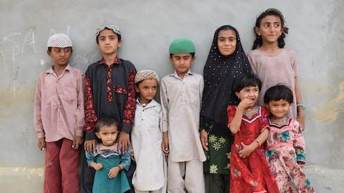 Free stock photo of children, festival of india, Gujarat, kutch