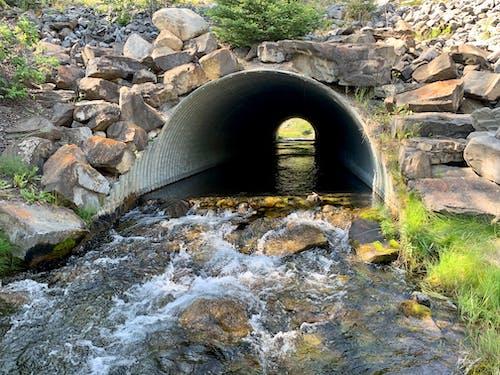 トンネルビュー, 川の無料の写真素材