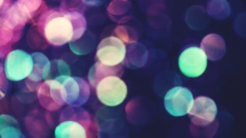 Photos gratuites de abstrait, arrière-plan flou, bleu, bokeh