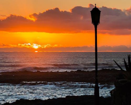 Gratis stockfoto met achtergrond, afbeelding, atlantische oceaan, avond