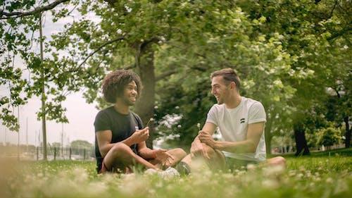 공원, 기쁨, 꽃, 남자의 무료 스톡 사진
