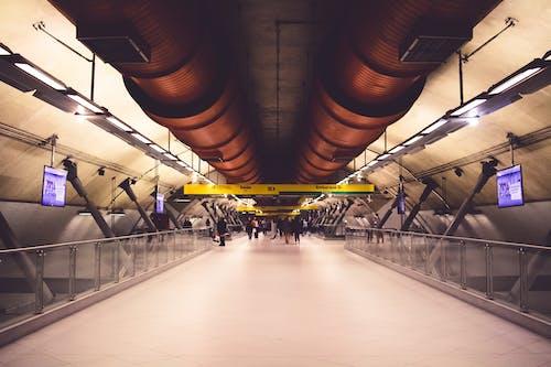 Foto d'estoc gratuïta de andana de metro, brasil, estació de metro, estació del metro