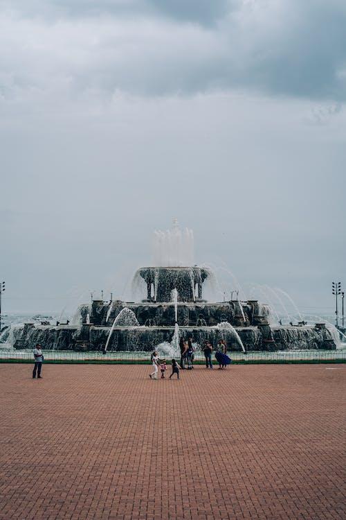 休閒, 公園, 噴泉, 城市 的 免費圖庫相片
