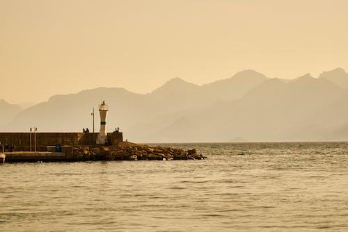 Imagine de stoc gratuită din apus, călătorie, coastă, far