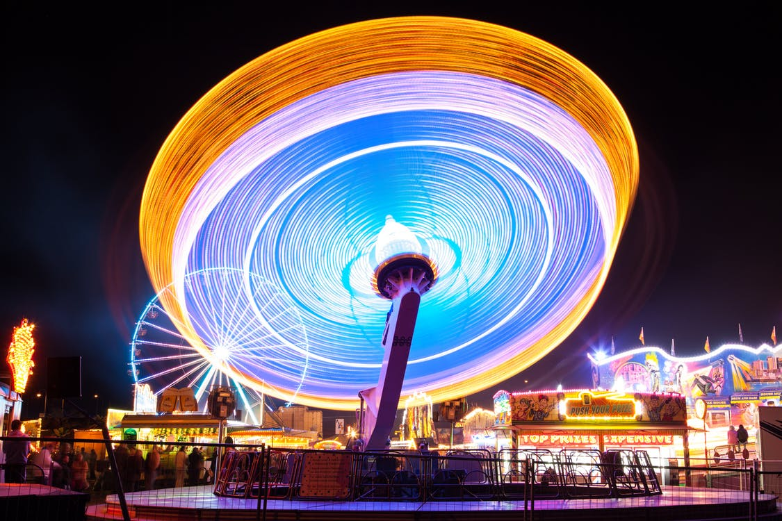 Timelapse Photography of Carnival
