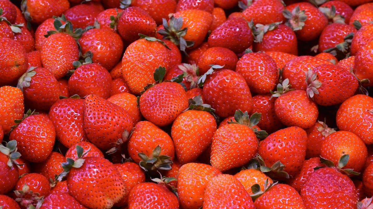 diät, erdbeere, erdbeeren