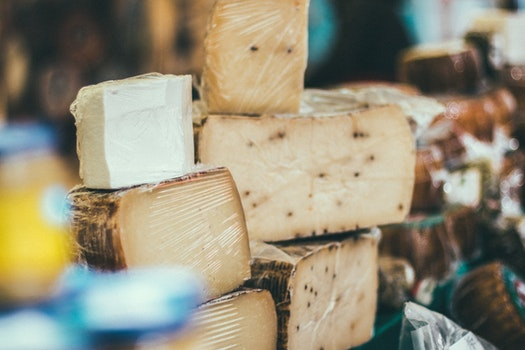 Free stock photo of food, market, indoors, cheese