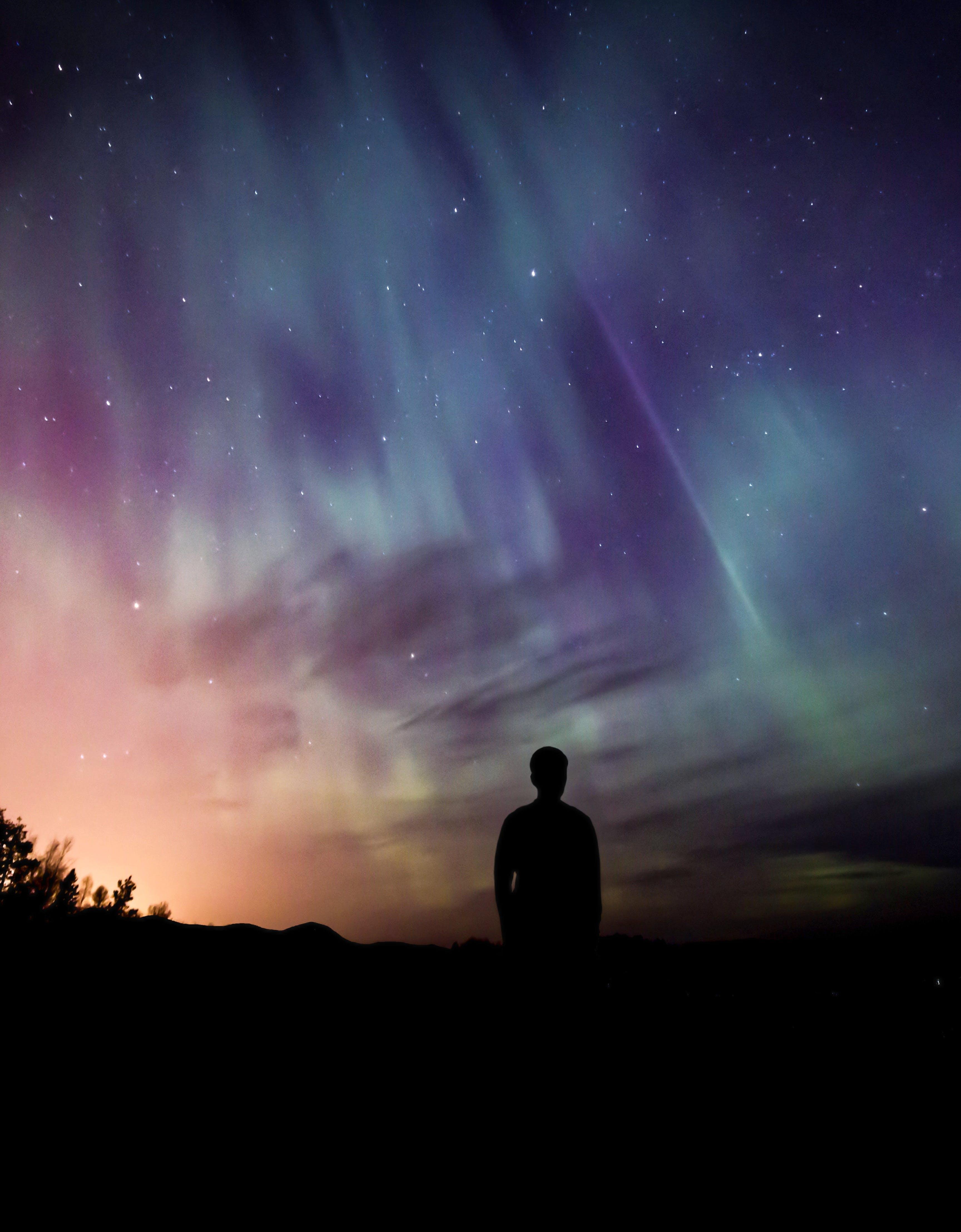 Free stock photo of atmosphere, aurora, aurora borealis, borealis