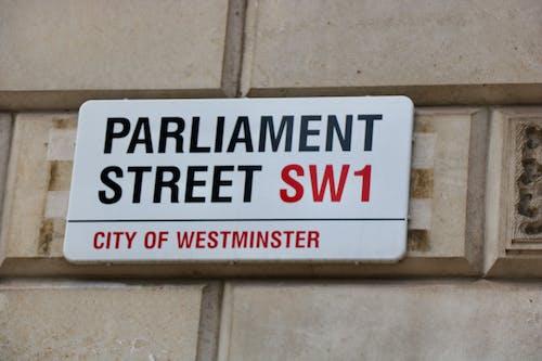 Foto stok gratis jalan parlemen, London, parlemen, pemerintah inggris