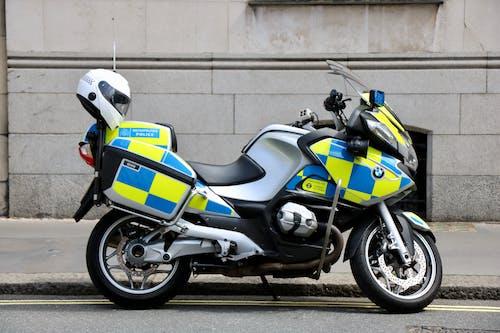 Foto stok gratis London, polisi, polisi metropolitan, sepeda motor