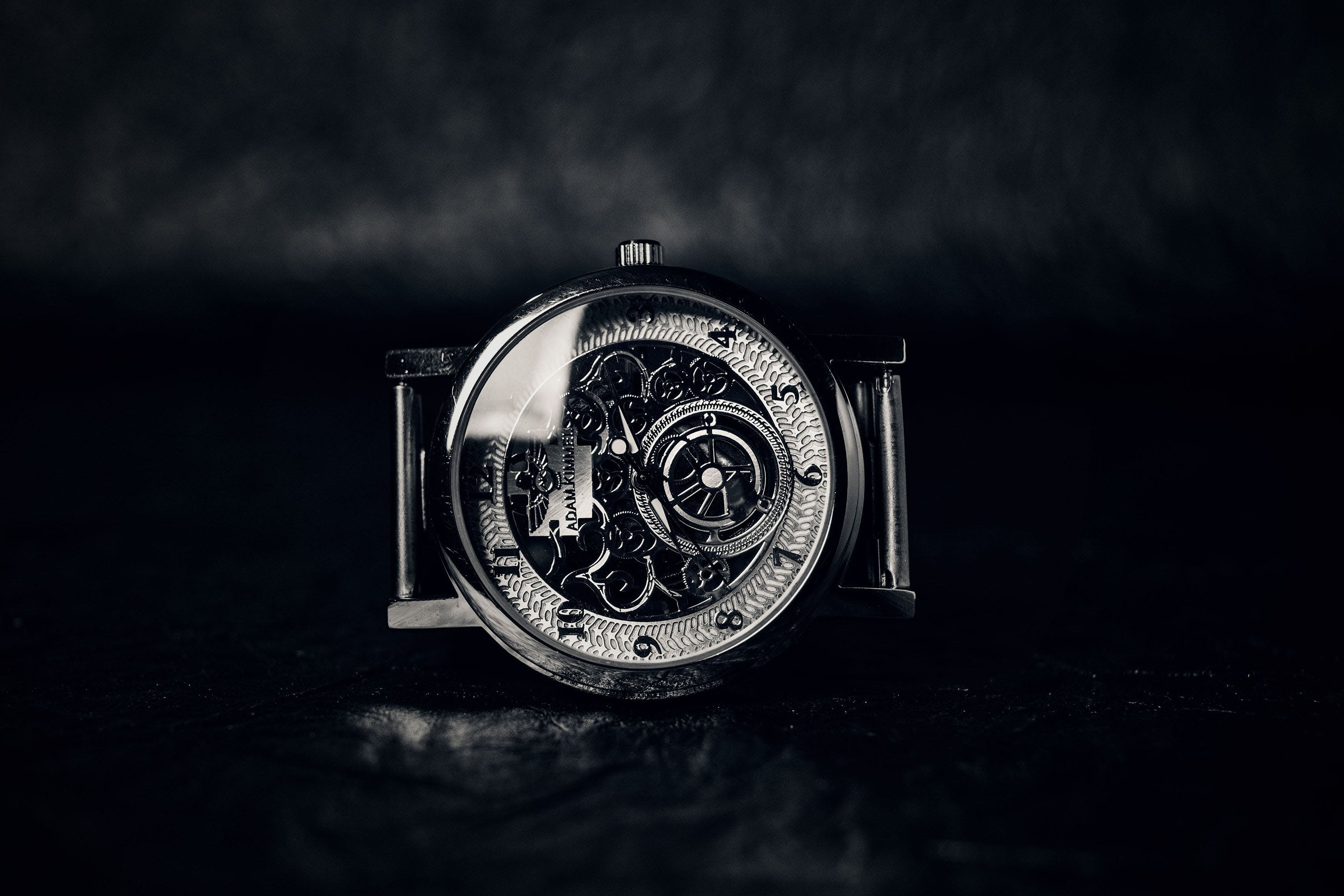 Analogue, antique, black-and-white
