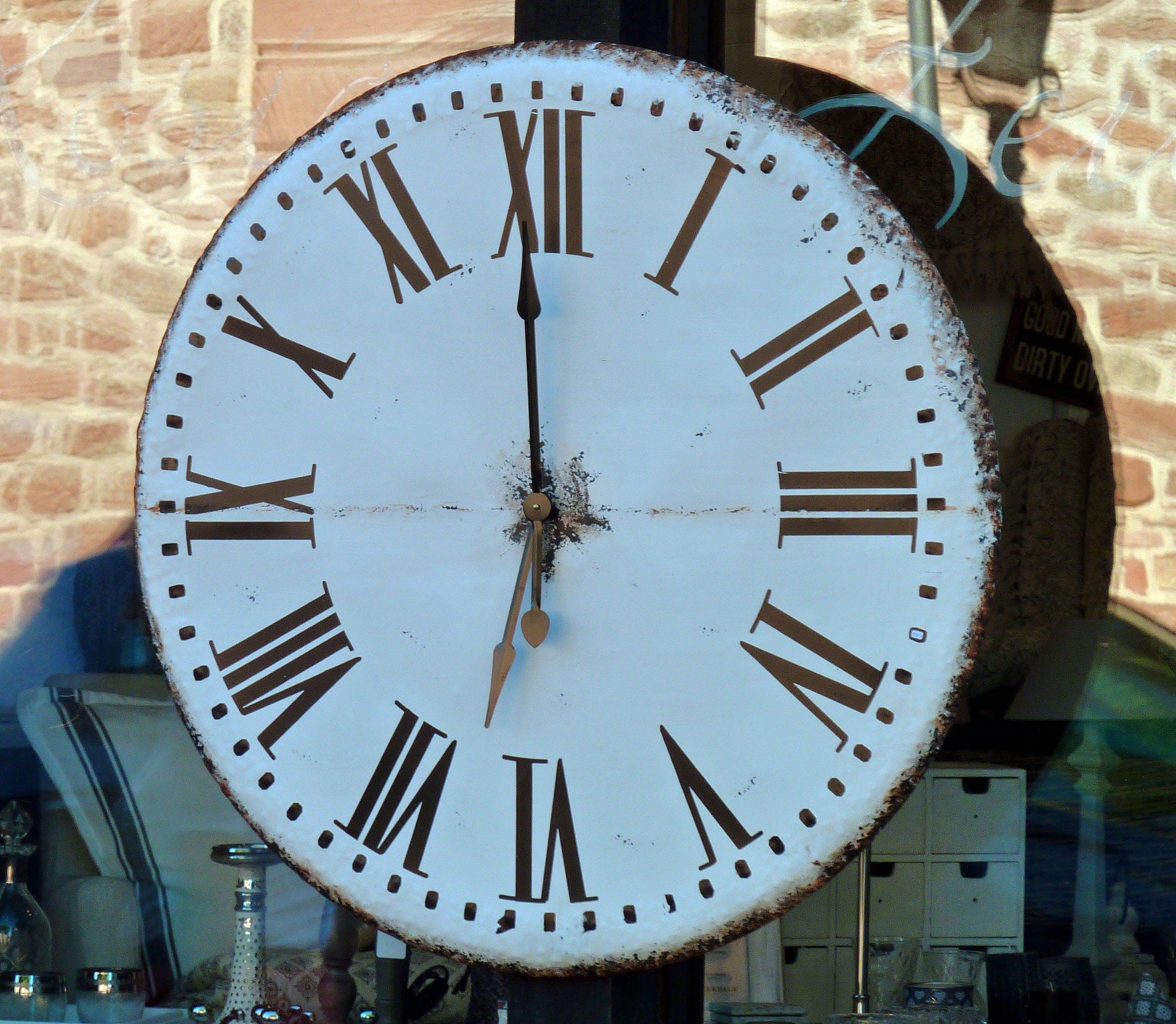 Free stock photo of time, clock, analog, movement