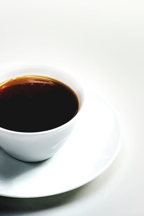 blanc, boire, café
