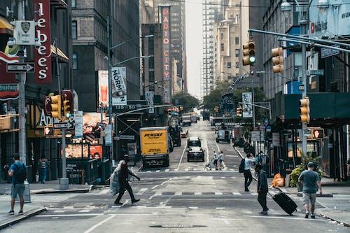 คลังภาพถ่ายฟรี ของ นิวยอร์ก, นิวยอร์กซิตี้, ผู้คน, พาณิชย์