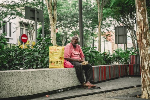 Free stock photo of old man, street photography