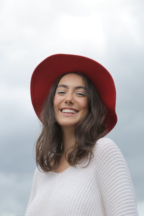 Woman Smiling during Day