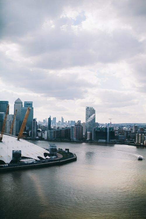 Základová fotografie zdarma na téma Anglie, architektura, budovy, Canary Wharf