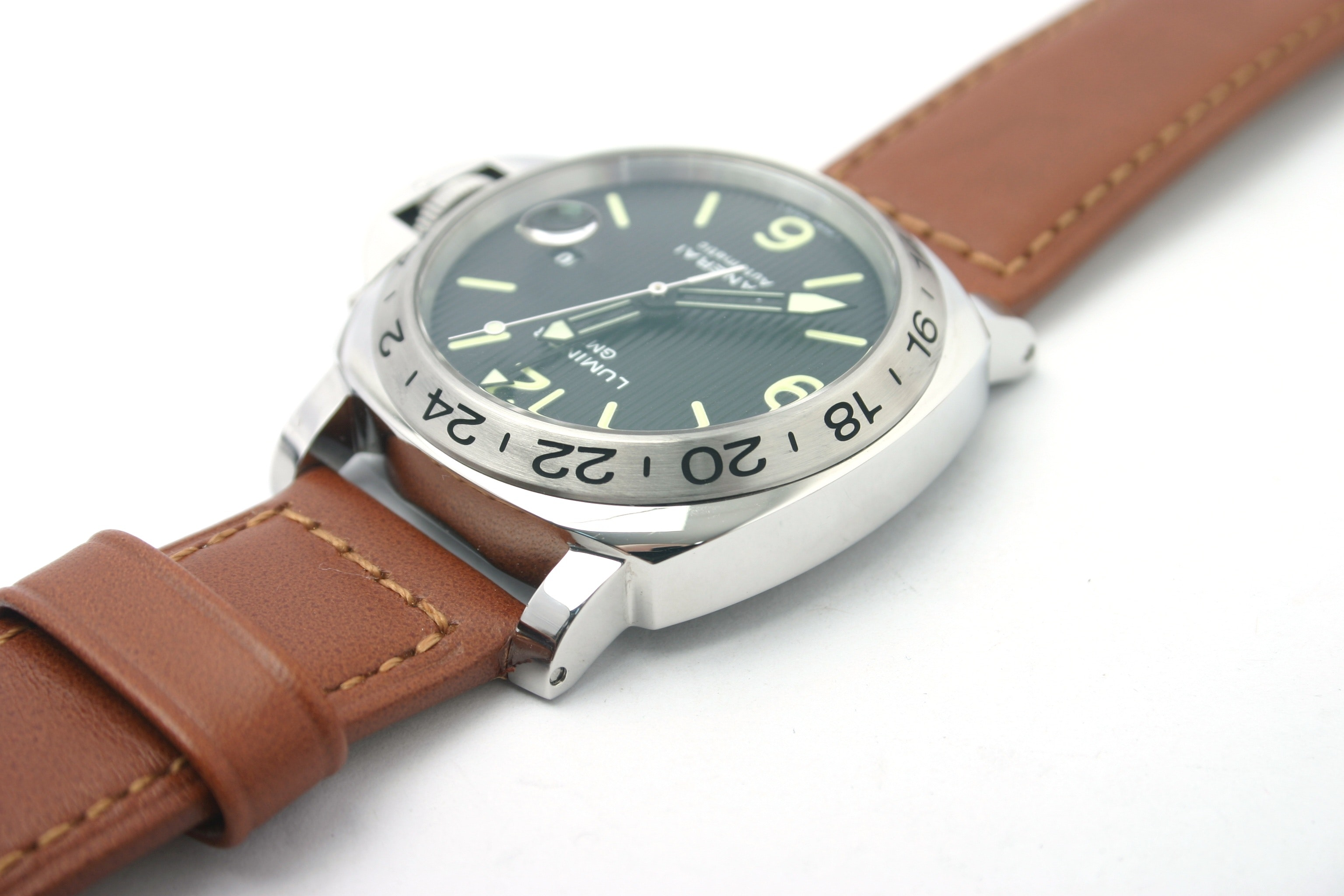 availability mens panerai logo watch luminor watches base