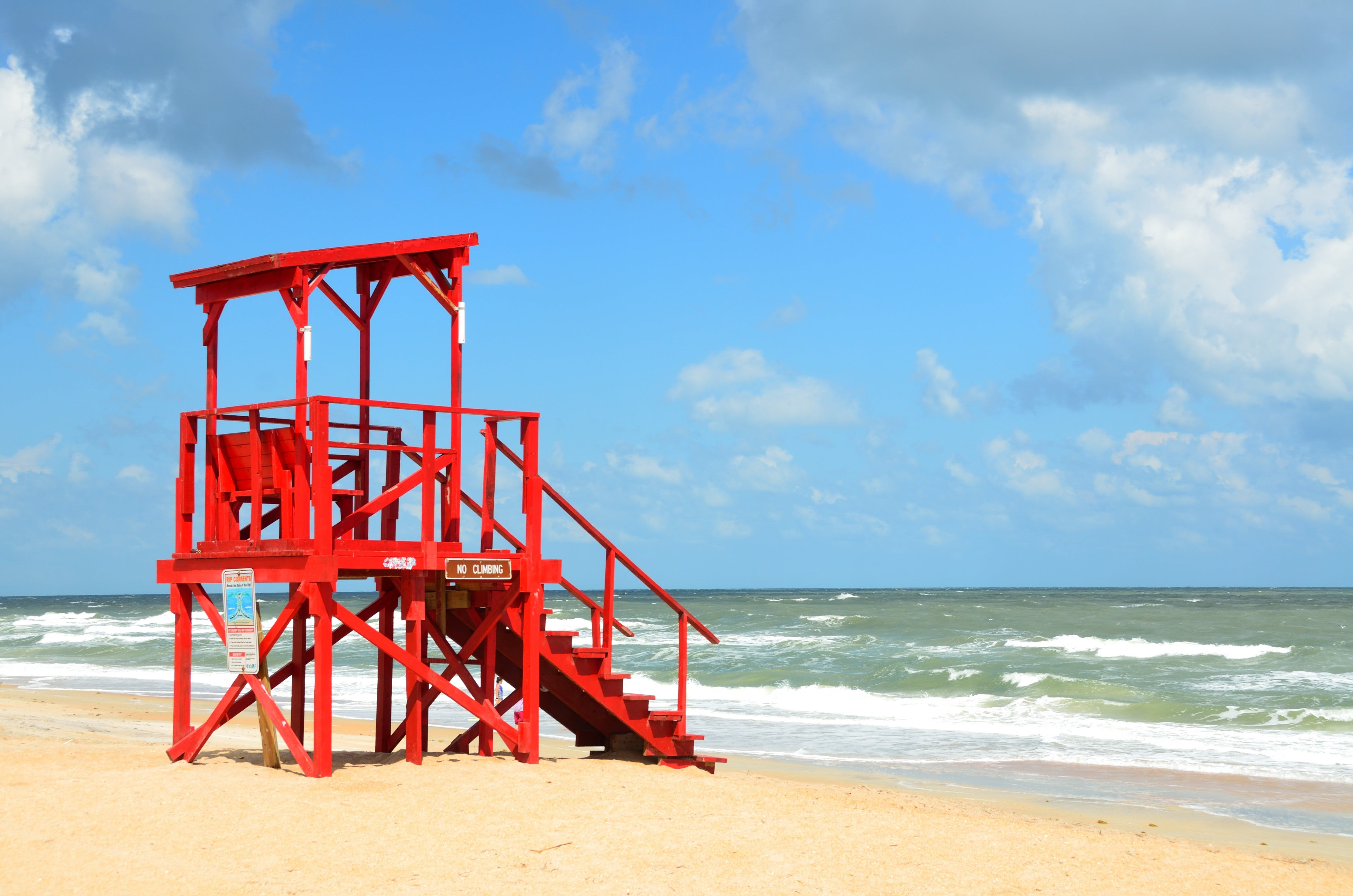 Δωρεάν στοκ φωτογραφιών με αδειάζω, ακτογραμμή, άμμος, ασφάλεια