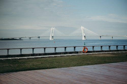 Δωρεάν στοκ φωτογραφιών με 4k ταπετσαρία, αρχιτεκτονική, γαλήνιος, γέφυρα