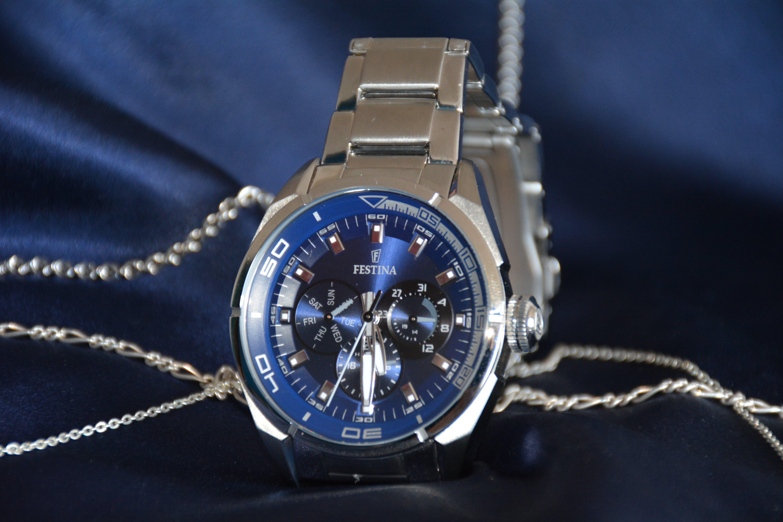 Kostenloses Stock Foto zu armband, armbanduhr, band, blau