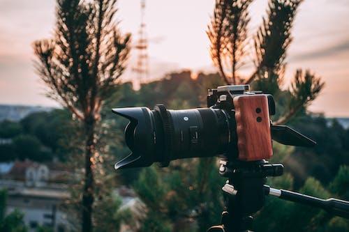 Základová fotografie zdarma na téma bokeh, elektronika, fotoaparát, fotografické vybavení