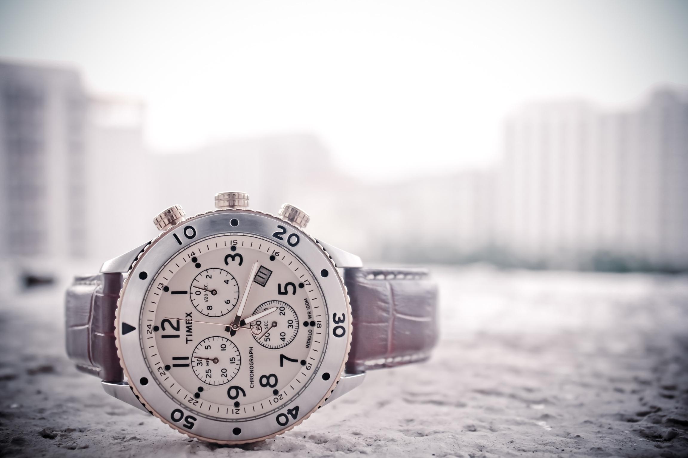 Free stock photo of dawn, landscape, buildings, wristwatch